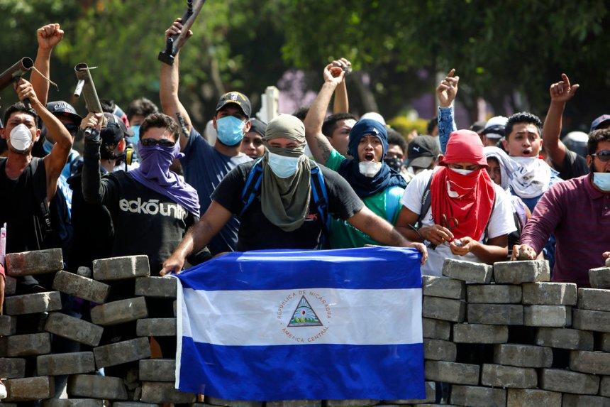 APTOPIX Nicaragua Protests
